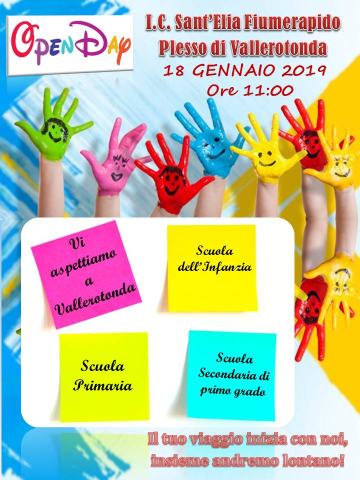 open day santelia vallerotonda